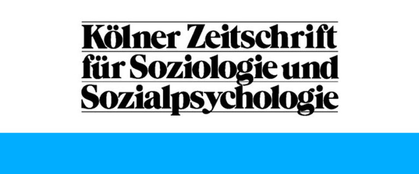 Cologne Journal for Sociology and Social Psychology
